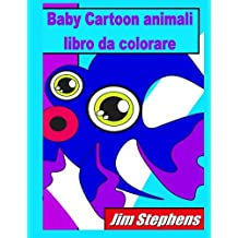 Baby Cartoon Animali Libro Da Colorare