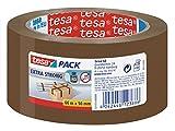 Tesa 57173-00000-03 - Cinta de embalaje de PVC, color marrón (6 unidades)