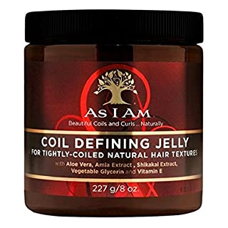 As I Am Coil Defining Jelly For Defining Tightly-Coiled Natural Hair Textures 227g/8 oz.