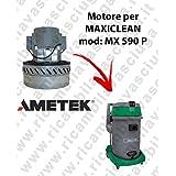 MX 590P Motor ametek de aspiración para aspiradora y te Maxiclean