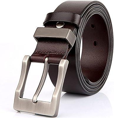 Rihachan Caballeros Forma Reversible de la Correa de Cuero Cinturones en Todos los Tamaños de 1.4