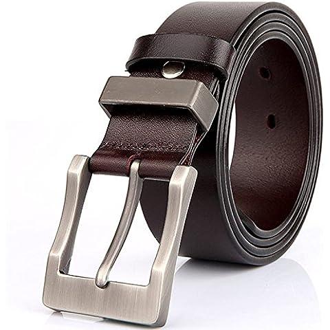 Rihachan Hombres Cinturones de cuero Cinturón reversible 1.4