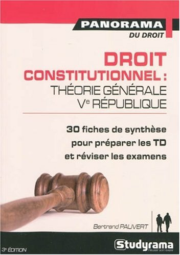 Droit Constitutionnel 3edt par Pauvert Bertrand