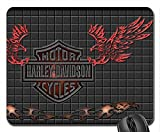 Harley piastrelle mouse pad, Mousepad (25,9x 21,1x 0,3cm)