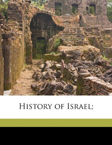 History of Israel;