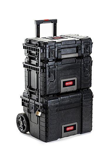 Keter Werkzeugkoffer Set 3in1 Trolley Werkzeugwagen Werkzeugkasten Werkzeugkiste