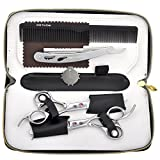 Best CCbeauty Hair Cutting Shears - #1 Rose red crystal: CCbeauty Barber Supplies Equipment Review