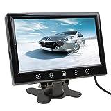 ePathChina® 9 Zoll 800 × 600 Pixel auflösenden TFT Farbe LCD Bildschirm Kissen Auto Rückspiegel Monitor unterstützt zwei Möglichkeiten zur Auswahl der Video-Ausgang Car V1/V2 widescreen Auto Rückfahrkamera Monitor mit Touch-Tasten und der Fernbedienung Funktion