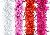 federboa rosa Vergleich