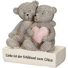 Ambiente – Oso Amor Ositos Pareja corazón Amor Día de San Valentín Idea Idea de Regalo