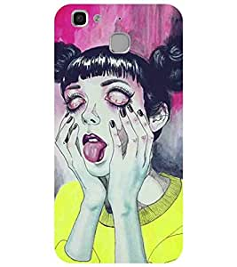 Cartoon, Black, Cartoon and Animation, Printed Designer Back Case Cover for Huawei Enjoy 5
