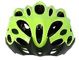 #9: Cockatoo Professional Multi-Colour Cycling Helmet, Skating Helmet (White:Yellow, Medium) (Green, Medium)
