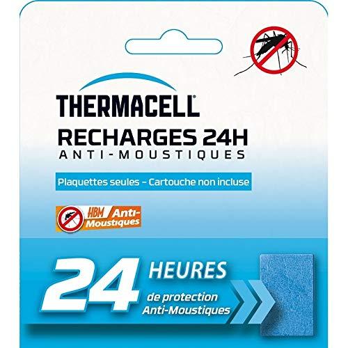 Recharge Plaquettes 24H pour Campeur Anti-Moustiques Thermacell