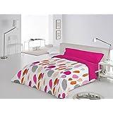 Funda Nórdica 3 piezas Barmel cama de 105 color Fucsia