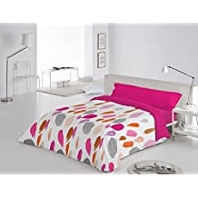 Funda Nórdica 3 piezas Barmel cama de 90 color Fucsia