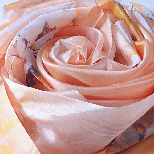 serviette de plage Écharpes en soie pour femme Écharpe solaire Écharpe sauvage à double usage ( Couleur : #11 ) #11