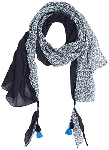 ESPRIT edc by Accessoires Damen 077CA1Q009 Schal, Blau (Navy 400), One Size