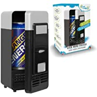 GreatGadgets 3072 USB Mini frigo, nero