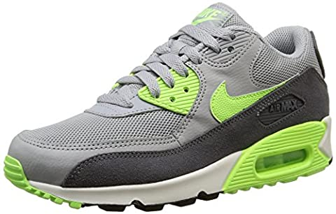 Nike Damen, Sportschuhe, wmns air max 90 essential, grau (wlf gry/ghst grn-drk gry-smmt), 36.5