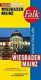 Falkplan Falk-Faltung Wiesbaden / Mainz