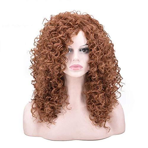BMY Afro Perücken kleine lockige Haare Explosive Kopf Faser Material Perücke Perücke Frauen Mode Schönheit Blogger Queen Daily Perücken