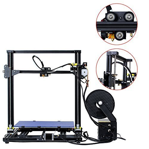 Comgrow 3D-Drucker CR-10 S5 Filament Monitor with Dual Z Lead Screws 500x500x500mm - 5