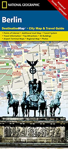 Berlin: Destination City Maps (National Geographic Destination City Map) por National Geographic