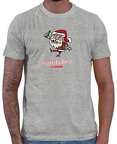 HARIZ  Herren T-Shirt Pixbros Santabro Xmas Weihnachten -