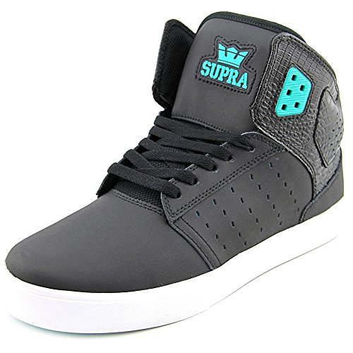 Supra - Atom, Sneakers, unisex (Black / atlantis - white)