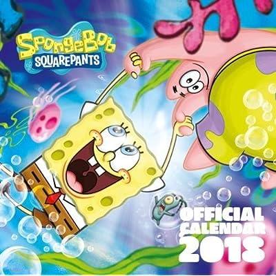 Spongebob Official 2018 Calendar - Square Wall Format
