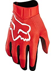Fox Airline Gloves, Race Red, Small