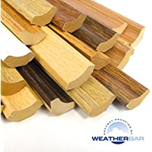 Laminate Scotia Floor Beading, 6 Colours, 16.5mm Wide, 10 x 2400mm (24m) (White)