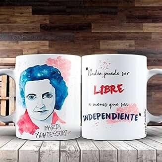 Taza Feministas -Maria Montessori