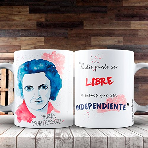 Desconocido Taza Feministas -Maria Montessori