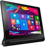 Lenovo Yoga Tablet 2-8 20,32 cm (8 Zoll Full HD-IPS) Windows Tablet (Intel Atom Z3745 Quad-Core Prozessor, 1,86GHz, 2GB RAM, 32GB interner Speicher, 1.6MP + 8MP KameraTouchscreen, Windows 8.1) schwarz