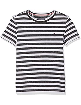 Tommy Hilfiger Ame Dg Thdm Reg Stp Cn Knit S/S 14, Camiseta para Niños