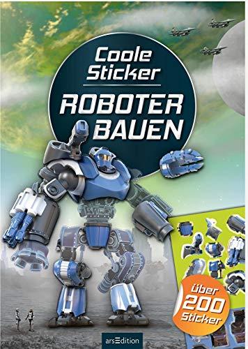 Coole Sticker - Roboter bauen: über 200 Sticker (Mein Stickerbuch)