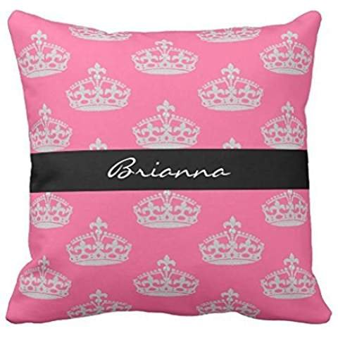 Personalized Diamond Princess Crown Throw 2222 pillow case cover
