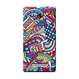 Garmor Retro Design Plastic Back Cover For HTC Windows Phone 8X (Retro -1) best price on Amazon @ Rs. 249