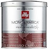 Illy Metodo Iperespresso Espresso- 21 Kapseln, Monoarabica Guatemala, 6er Pack (6 x 141 g)