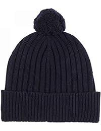 Accesorios Cashmere Sock House Scotland Lujo 100% puro cachemir bufanda de punto de Pointelle en color gris