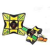 TianranRT Jouet pivotant de poche Amélioration du jouet Fidget 1x3x3 Cube magique Casse-tête Spinner pour entraînement Focus sur le jouet anti-stress EDC