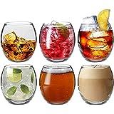 Argon Tableware Tondo Water / Whisky / Juice Tumbler Glasses - Gift Box of 6 Glasses - 405ml (14oz)