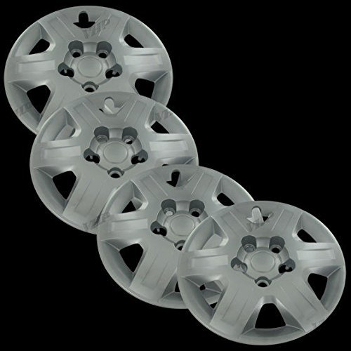 silver-16-bolt-on-hub-cap-wheel-covers-for-dodge-grand-caravan-set-of-4-by-overdrive-brands