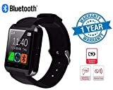 Twogood Advanced U8 Touchscreen Bluetooth Smartwatch With Sim Card Support, Anti Theft Alarm, Remote Camera, Calling and Notification Support Compatible With Mi A1, Redmi Note-4 & Moto G5 (1 Year warranty, Assorted Colour)