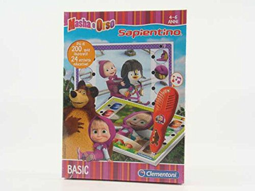 Sapientino masha e l'orso gioco giocattolo idea regalo #ag17