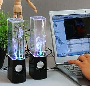 USB HAUT PARLEUR eau danse de fontaine LED -DANCE-SPEAKER