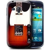 Gedruckt Schutzkoffer Schutzhüllen / Hülle für Samsung Galaxy S3 Mini / Sunburst Electric Muster / Gitarre Kollektion