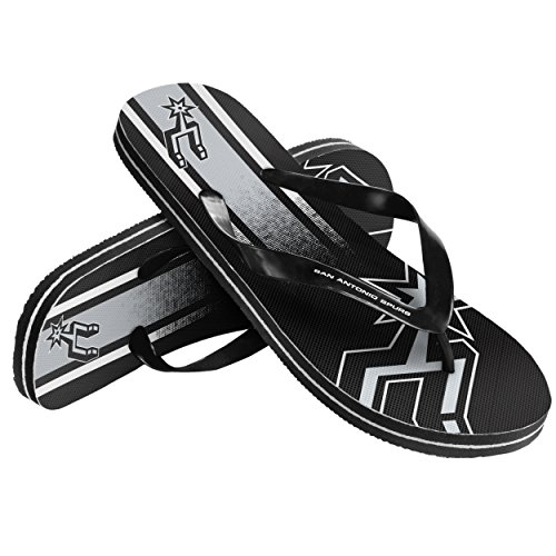 NBA San Antonio spursunisex Farbverlauf Big Logo Flip Flop, San Antonio Spurs, One Size - San Antonio Spurs-bean-bag