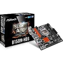Asrock B150M-HDS Intel B150 LGA1151 Micro ATX - Placa base (DIMM, DDR4-SDRAM, Dual, Intel, PC, Intel)